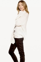 Wildfox Couture Salty Hair Penny Lane Sweater in Clean White