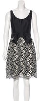 Milly Sleeveless Embroidered Dress