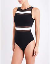 Jets Classique high-neck swimsuit