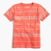 J.Crew Boys' slub pocket T-shirt in skinny stripe