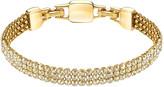 Swarovski Clim Bracelet, Gold Tone