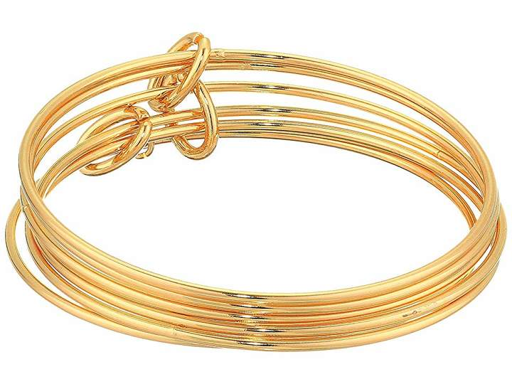 French Connection Skinny Bangle Bracelet Set