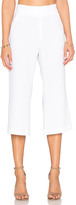 Enza Costa Cropped Flare Trouser Pant
