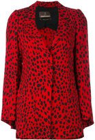 Roberto Cavalli cheetah jacket - women - Silk/Viscose - 42