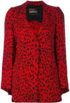 Roberto Cavalli cheetah jacket - women - Silk/Viscose - 44