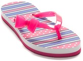 Tommy Hilfiger Striped Bow Flip Flop