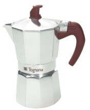 Tognana Extra Style Aluminum 6 Cup Coffee Maker