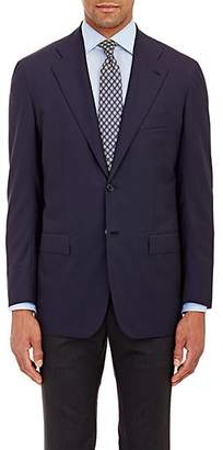 Kiton Men's KB Wool Two-Button Sportcoat - Navy