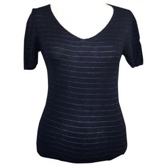 Des Petits Hauts Navy Cotton Knitwear for Women