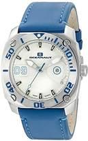 Oceanaut Men's OC1341 Barletta Analog Display Swiss Quartz Blue Watch