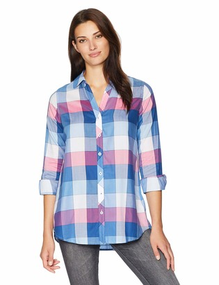 Foxcroft Women's Hadley Buffalo Plaid Tunic