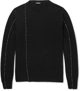 Raf Simons Embroidered Wool Sweater