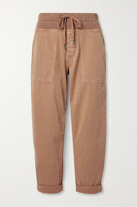 James Perse Cotton-blend Twill Cargo Pants - Tan