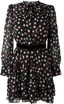 Marc Jacobs pastel polka dot dress - women - Silk/Polyester - 4