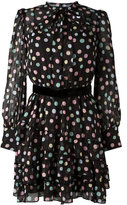 Marc Jacobs pastel polka dot dress - women - Silk/Polyester - 6