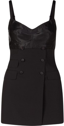 Dolce & Gabbana Panelled Fitted Mini Dress