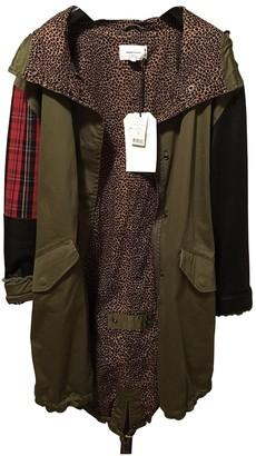 Current/Elliott Current Elliott Khaki Cotton Coat for Women
