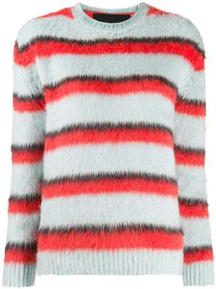 Marc Jacobs striped crewneck sweater