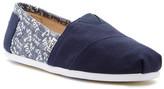 Toms Classic Navy Vote Slip-On Sneaker