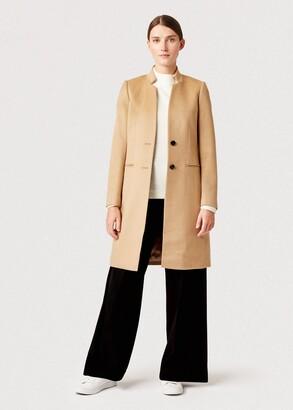Hobbs Tilda Wool Revere Coat