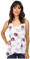 Splendid Cindelle Floral Print Tank Top