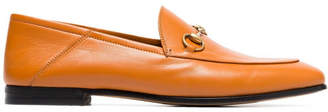 Gucci Jordaan Leather Loafres