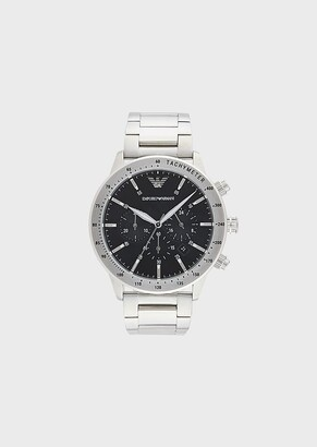 Emporio Armani Men'S Stainless Steel Cronograph
