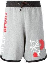 Plein Sport - Enzuigiri sweat shorts - men - Cotton/Polyester - S