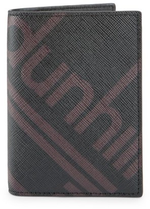 Dunhill Luggage Canvas Business Card Case