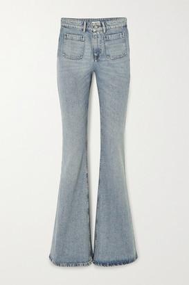 Miu Miu High-rise Wide-leg Jeans - Blue