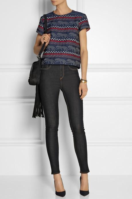 Rag and Bone Rag & bone Justine high-rise skinny jeans