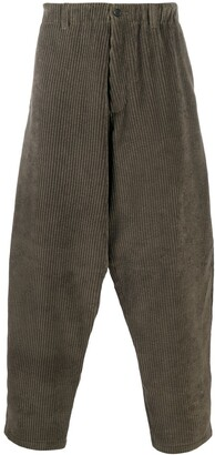 Paul Smith Dropped-Crotch Corduroy Trousers