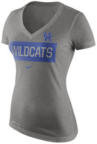 Nike Women's Kentucky Wildcats Dri Blend Tailgate V-Neck T-Shirt