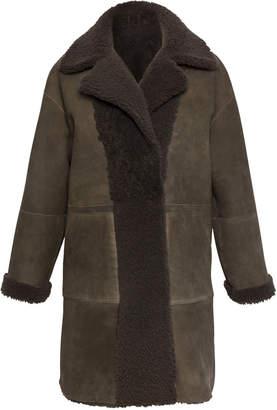 Gerard Darel Sheep Wool Ambre Coat