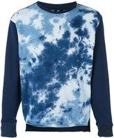 Longjourney tie dye sweatshirt - men - Cotton - M