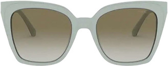 Emporio Armani Ea4127 Trilayer Azure Crystal Sunglasses
