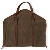 Moore & Giles Stanley Garment Bag - Brown