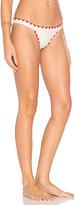 Lovers + Friends Adrift Bikini Bottom in Ivory. - size L (also in M,S,XS)