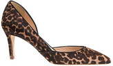 Thumbnail for your product : J.Crew Collection Valentina calf hair d'Orsay pumps