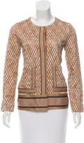 Missoni Patterned Collarless Jacket