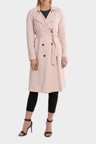 Basque Unstructured Midi Length Trench