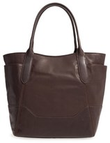 Frye Paige Leather Tote - Brown
