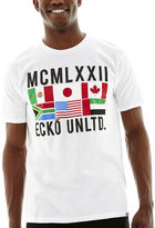 Ecko Unlimited Unltd. Flags Graphic Tee