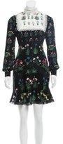 Valentino 2015 Primavera Print Silk Dress