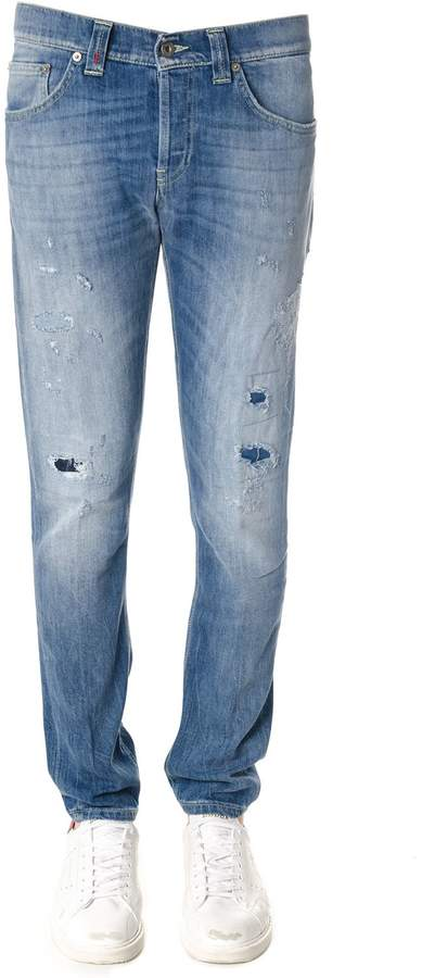 Dondup Mius Cotton Denim Jeans