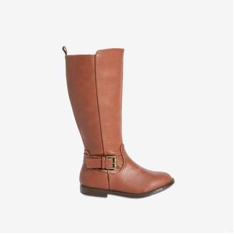 Joe Fresh Toddler Girls' Tall Riding Boots, Brown (Size 8)