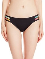 Coco Rave Women's Crochet Solids Bondi Side Crochet Bikini Bottom