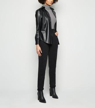 New Look Elasticated Waist Tori Mom Jeans