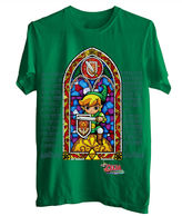 JCPenney Novelty T-Shirts Zelda Stained Glass Graphic Tee