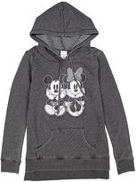 Jerry Leigh Black Mickey & Minnie Pair Hoodie - Juniors